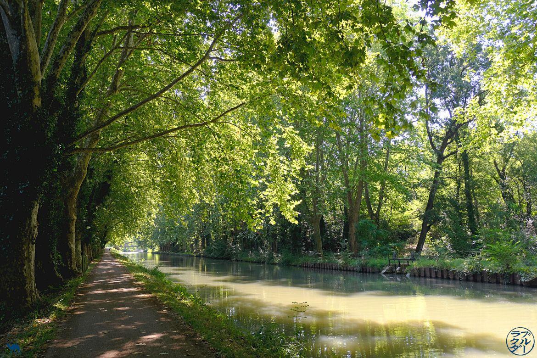 Le Chameau Bleu - Blog Voyage à vélo en Gironde - Canal des deux mers à vélo