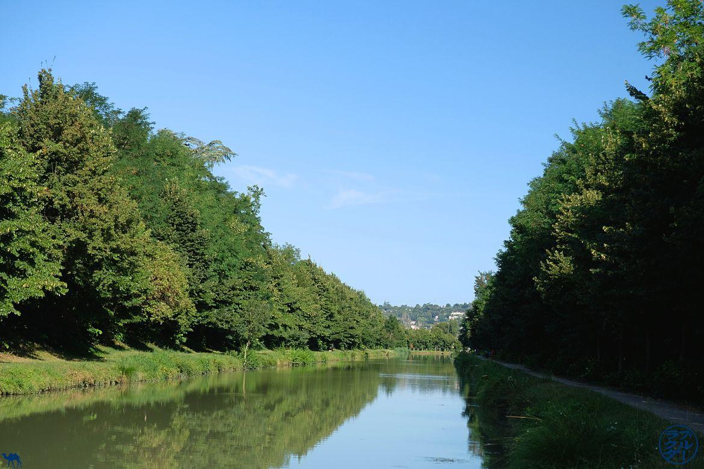 Le Chameau Bleu - Blog Voyage à Vélo Canal de l'Entre Deux Mers - Canal dans le lot et Garonne