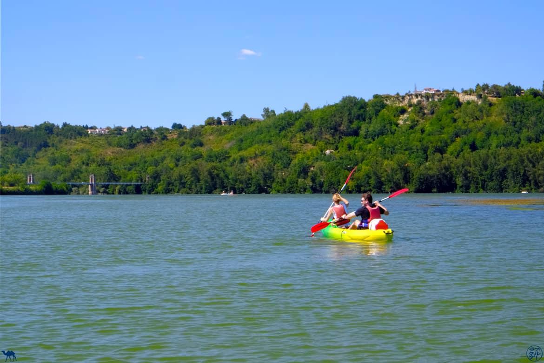 Le Chameau Bleu - Blog Voyage - Lomagne -  Canoe Saint Nicolas de La Grave - Tarn Et Garonne