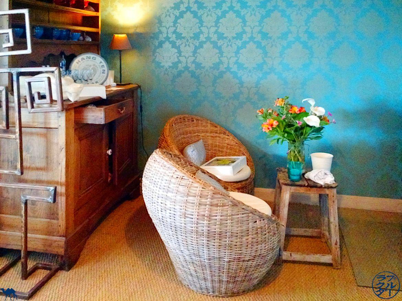 Le Chameau Bleu - Blog Voyage en Bretagne - Cap Fréhel - Salle du restaurant La Ribote