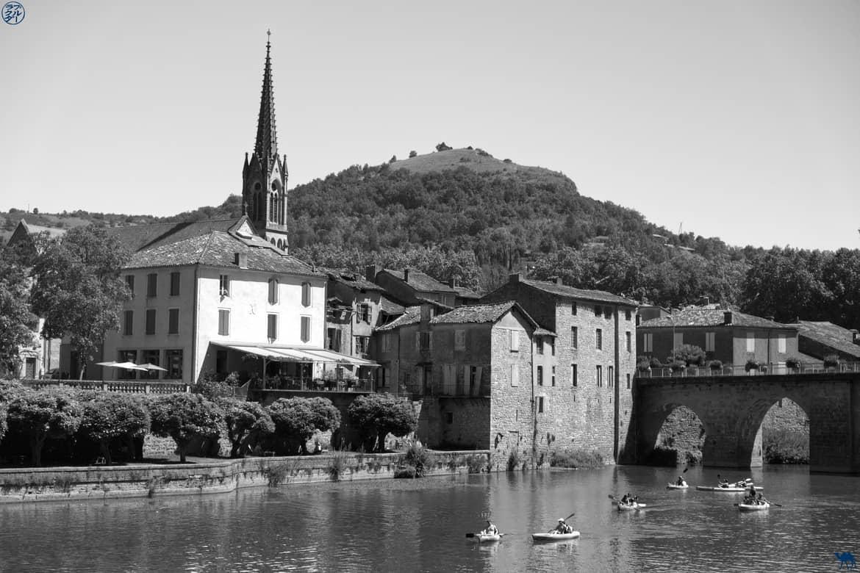 Le Chameau Bleu - Blog Voyage et Gastronomie -  Canoe Saint Antonin Noble. Val