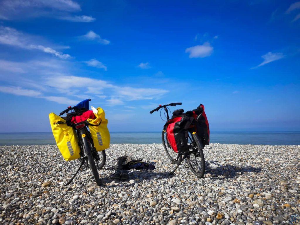 Le Chameau Bleu - Blog Voyage et Photo - La Somme à Vélo - Plage de Cayeux Sur Mer