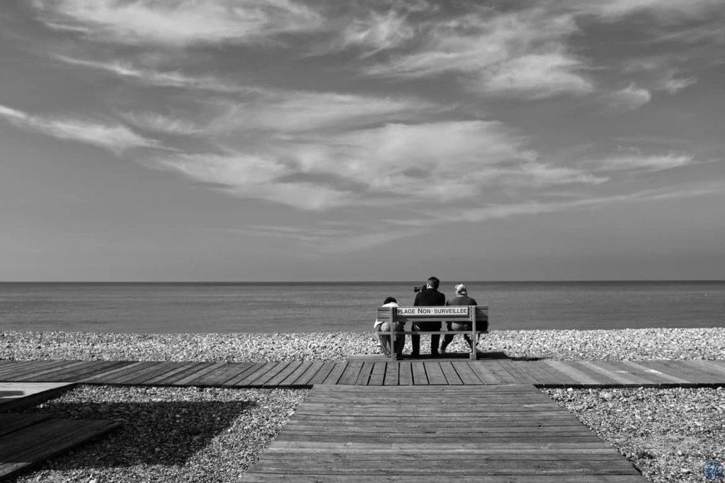 Le Chameau Bleu - Blog Voyage et Photo - La Baie de Somme à Vélo - Cailleux Sur Mer- Surveillance