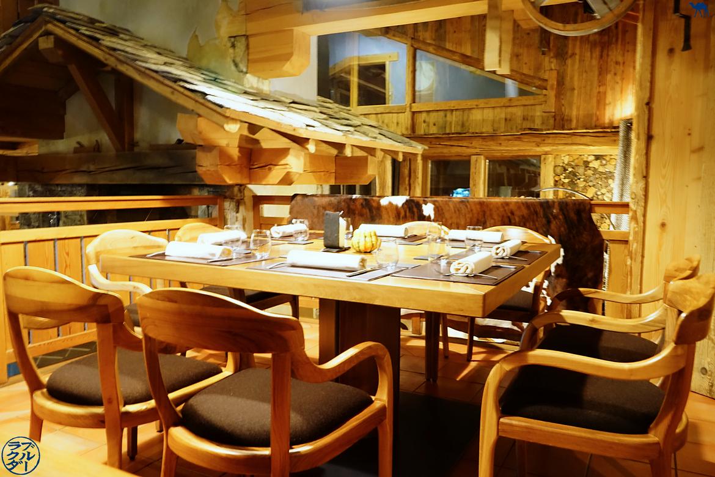 Le Chameau Bleu - Blog Gastronomie et Voyage - Salle Restaurant étoilé Val d'Isère Atelier d'Edmond