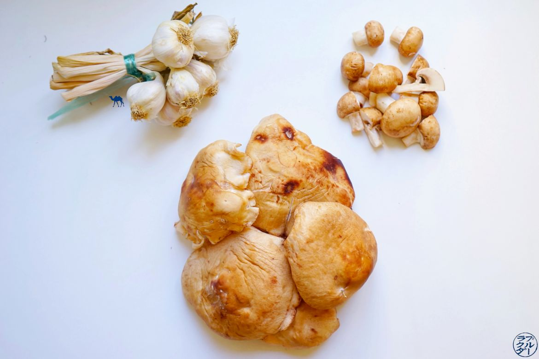 Le Chameau Bleu - Blog Voyage et Gastronomie - Champignons pour la recette