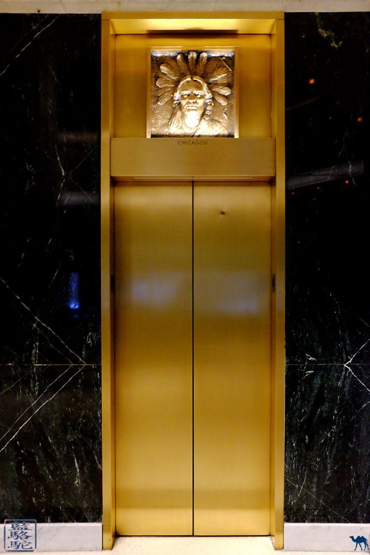 Le Chameau Bleu - Blog Voyage Chicago -Séjour à Chicago - Dans le hall du Marquette Building