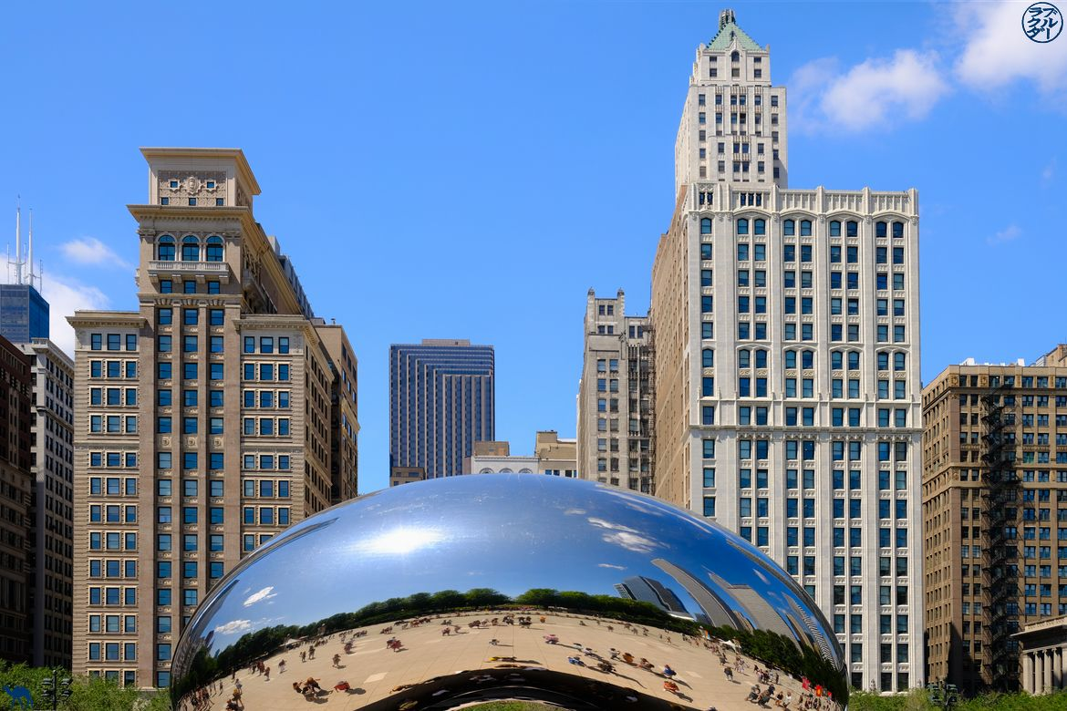 Le Chameau Bleu - Blog Voyage Chicago - The Cloud Gate à Chicago
