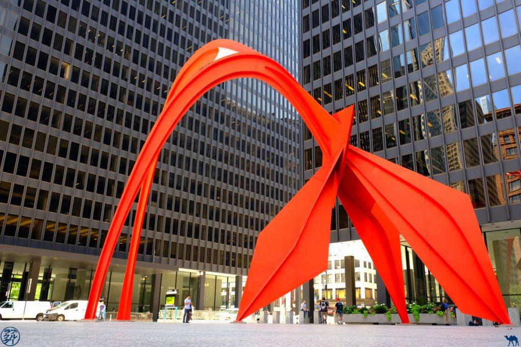 Le Chameau Bleu - Blog Voyage Chicago - Calder à Chicago