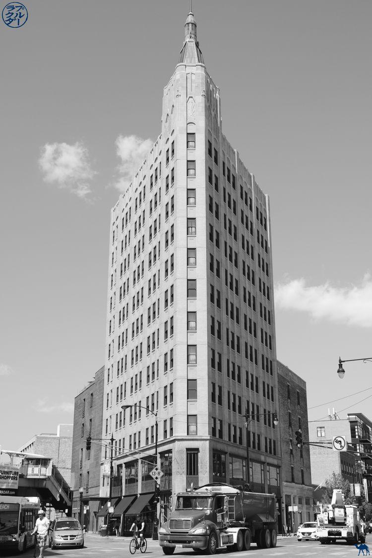 Le Chameau Bleu - Blog Voyage Chicago - Immeuble de Chicago