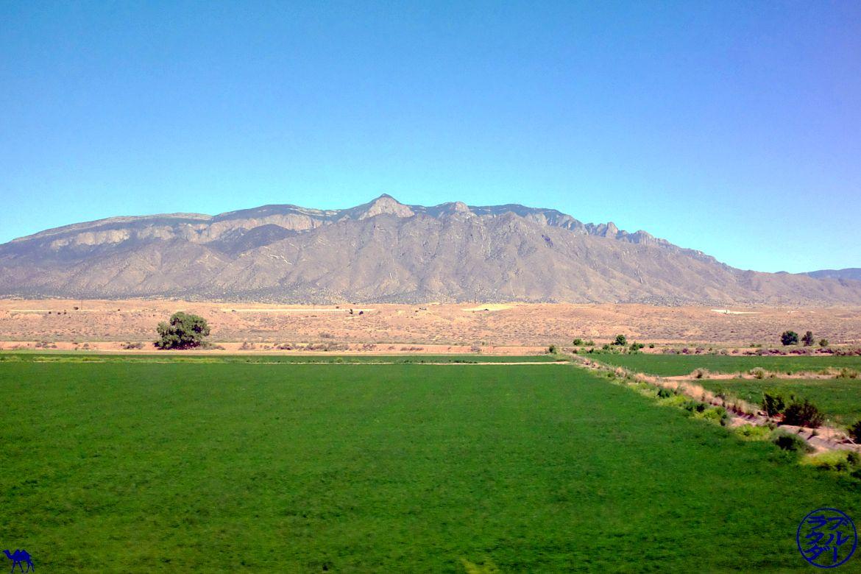 Le Chameau Bleu - Blog Voyage Los Angeles - Vue depuis le Southwest Chief train