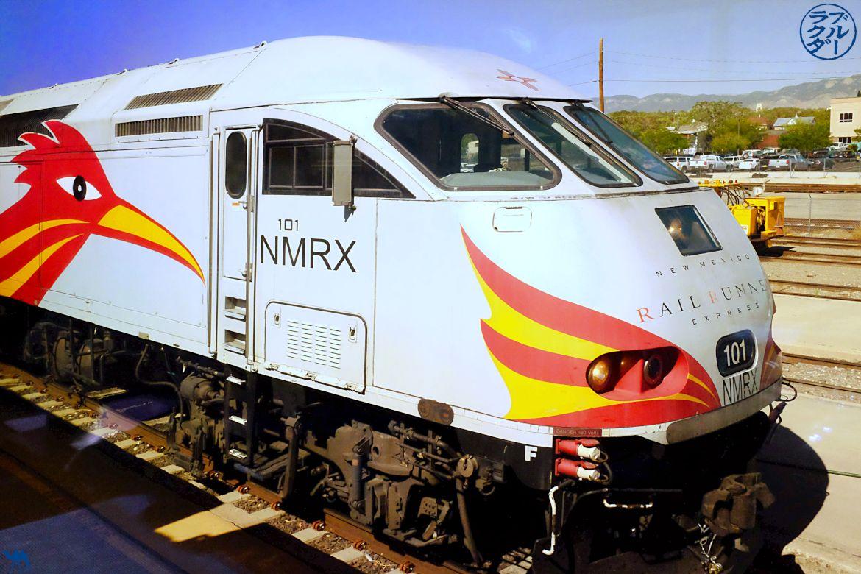 Le Chameau Bleu - Blog Voyage Southwest Chief train - Locomotive du Southwest Chief train