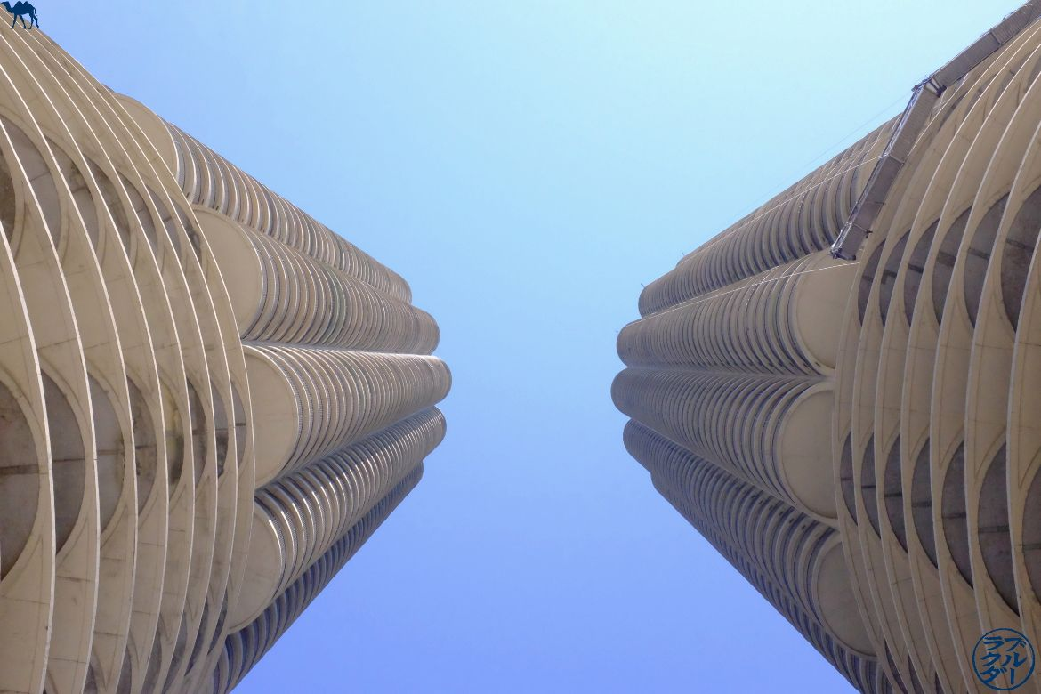 Le Chameau Bleu - Blog Chicago - Marina City de Bertrand Goldberg