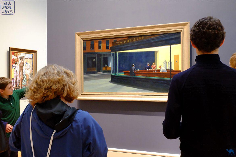 Le Chameau Bleu - Blog Voyage Chicago - Séjour à Chicago- Musée à visiter Oeuvre de Hopper