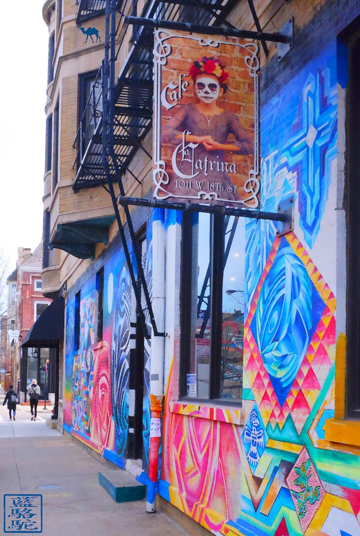 Le Chameau Bleu - Blog Voyage Chicago - La Catrina Cafe