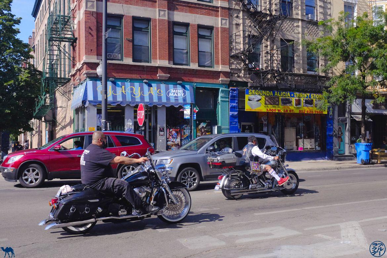 Le Chameau Bleu - Blog Voyage Chicago - Bikers de Pilsen