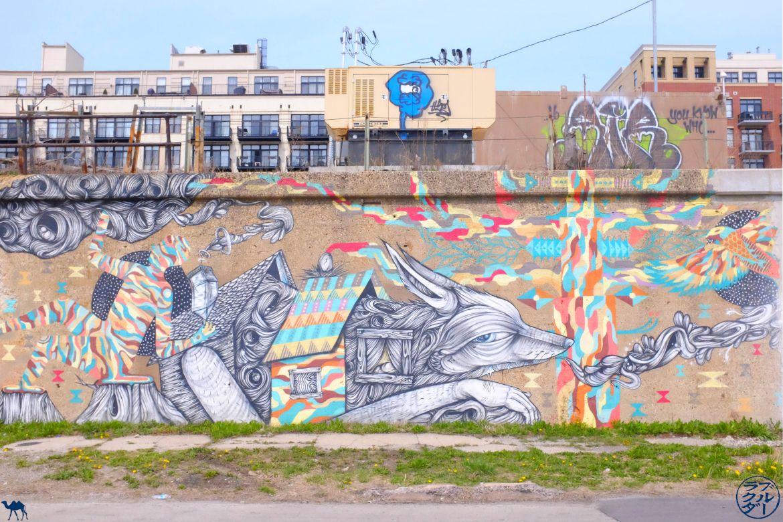 Le Chameau Bleu - Blog Voyage Chicago - 18th street Pilsen- RenardStreet Art