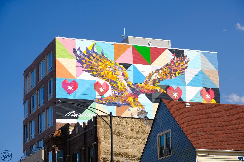 Le Chameau Bleu - Blog Voyage Chicago - Street Art à Chicago - Aigle
