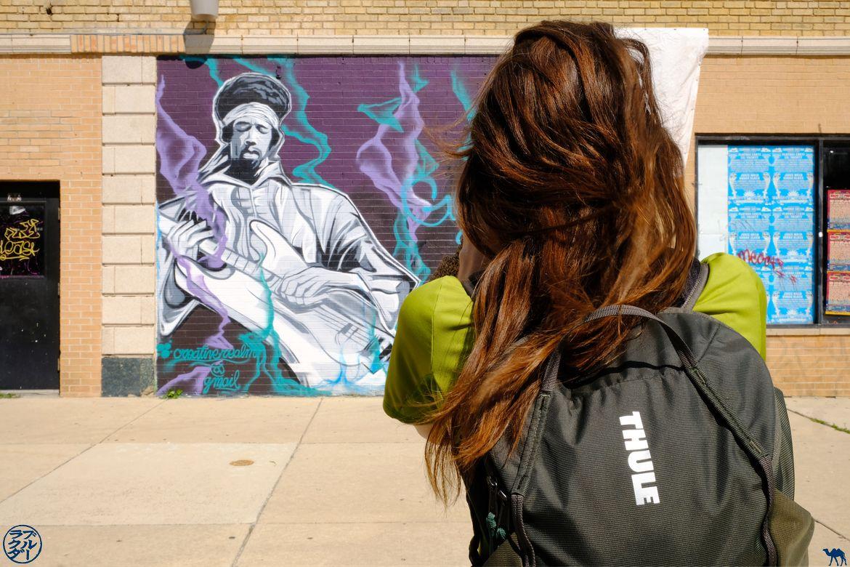 Le Chameau Bleu - Blog Voyage Chicago - Balade autour du Street Art de Chicago illinois