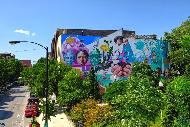 Le Chameau Bleu - Blog Voyage Chicago -Balade autour du Street Art