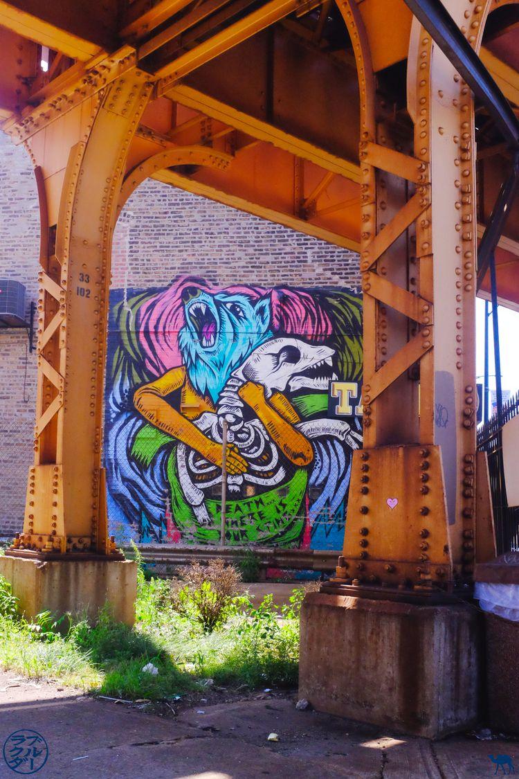 Le Chameau Bleu - Blog Voyage Chicago - Ville à Street Art