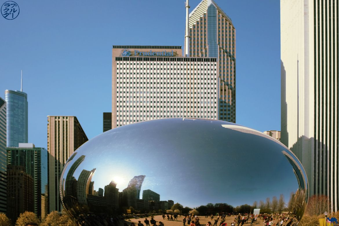 Le Chameau Bleu - Blog Chicago - Visite du Bean