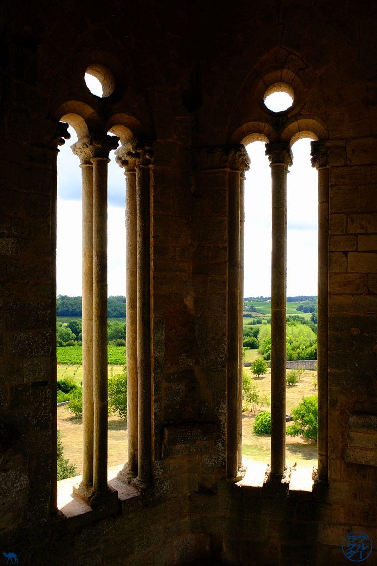 Le Chameau Bleu - Blog Voyage en Gironde à vélo - Intérieur de l'abbaye de la Sauve Majeure