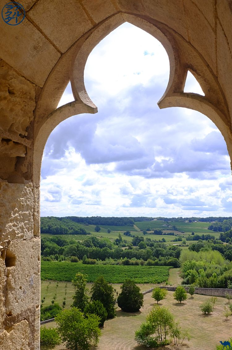 Le Chameau Bleu - Blog Voyage à vélo en Gironde - Tour de l'Abbaye de la Sauve Majeure