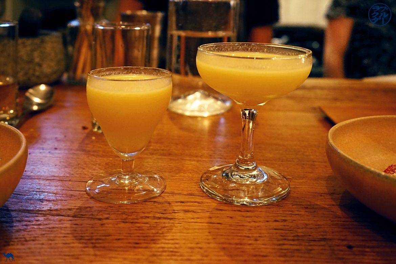 Le Chameau Bleu - Blog Gastronomie - Dessert et Cocktails du restaurant gastronomique Dersou Paris