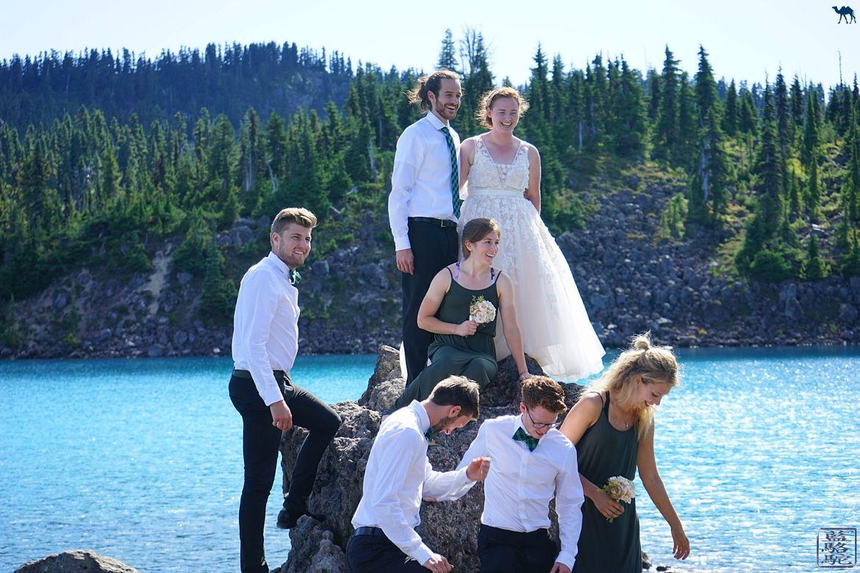 Le Chameau Bleu - Blog Voyage Canada Colombie Britannique - Mariage canadien devant le Garibaldi Lake