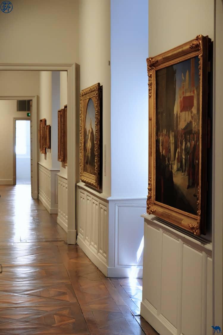 Le Chameau Bleu - Blog Voyage et Cuisine - Couloir Musée Ingres Bourdelle Montauban