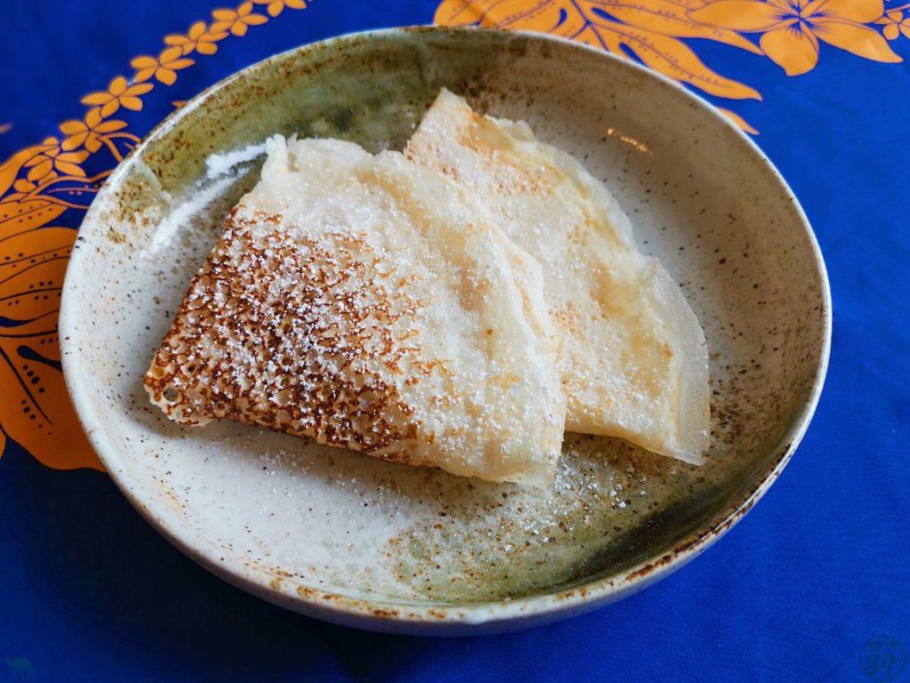 Le Chameau Bleu- Blog Voyage et Gastronomie - Crêpe Noglu au Lait de Coco