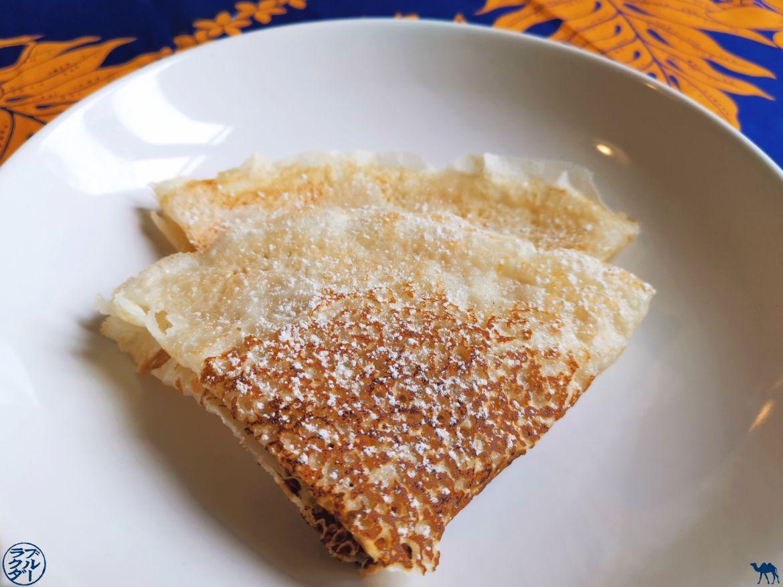 Le Chameau Bleu -Blog Voyage et Gastronomie - Crêpe sans gluten au lait de coco