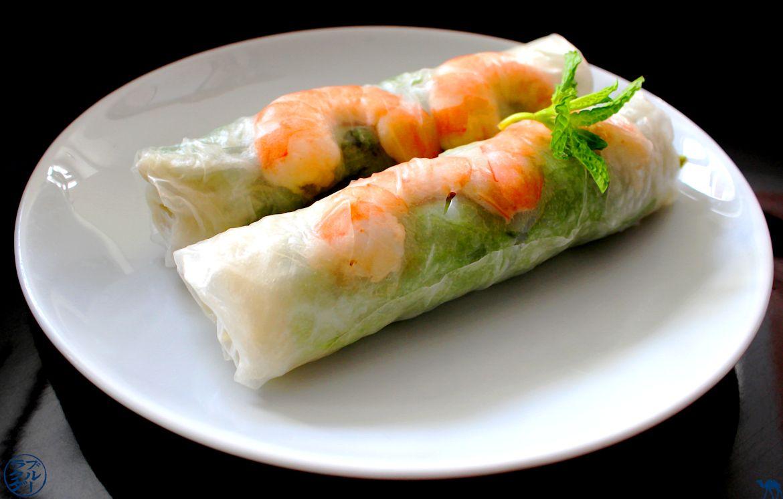 Le Chameau Bleu - Blog Cuisine Asiatique - Rouleaux de printemps - Recette traditionnelle