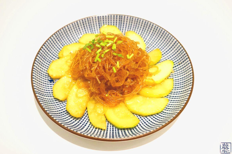 Le Chameau Bleu - Blog Voyage et Gastronomie - Recette Courgette sautée à l'asiatique et Vermicelles de soja