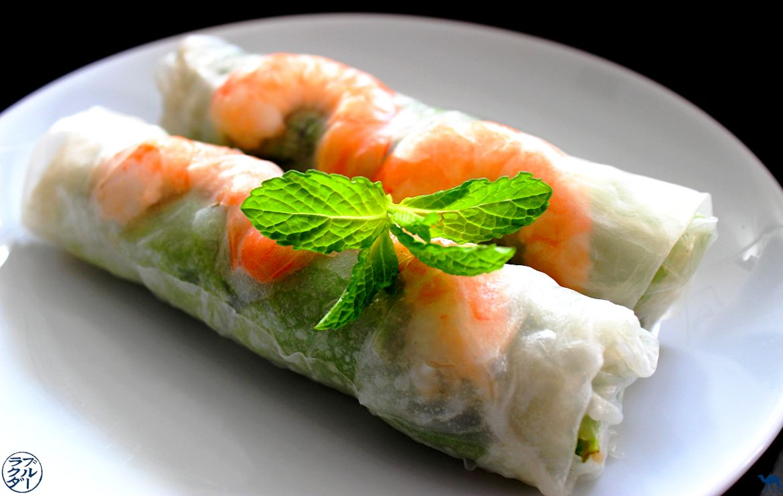 Le Chameau Bleu - Blog Cuisine et Voyage - Rouleaux de printemps aux crevettes - La Recette originale
