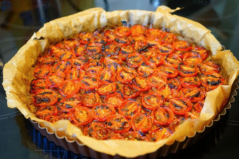 Recette de Tarte Tatin aux Tomates Cerises Caramélisés - Le Chameau Bleu Blog Cuisine et Voyage