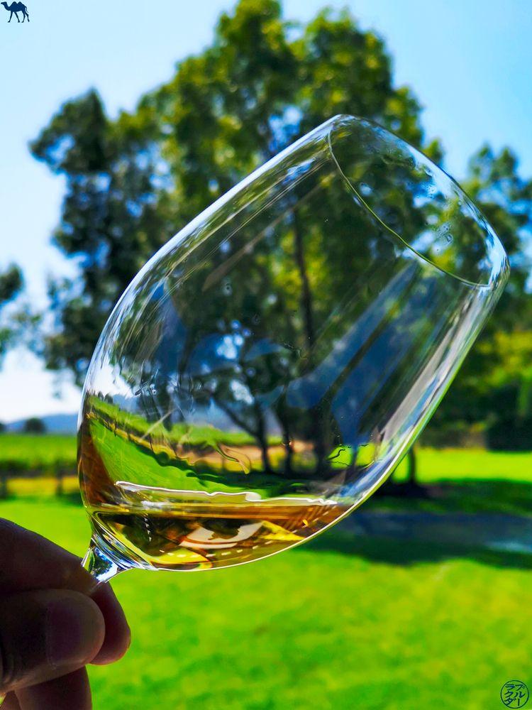 Le Chameau Bleu - Blog Voyage Napa Valley - Dégustation de vin Dolce au domaine Farniente