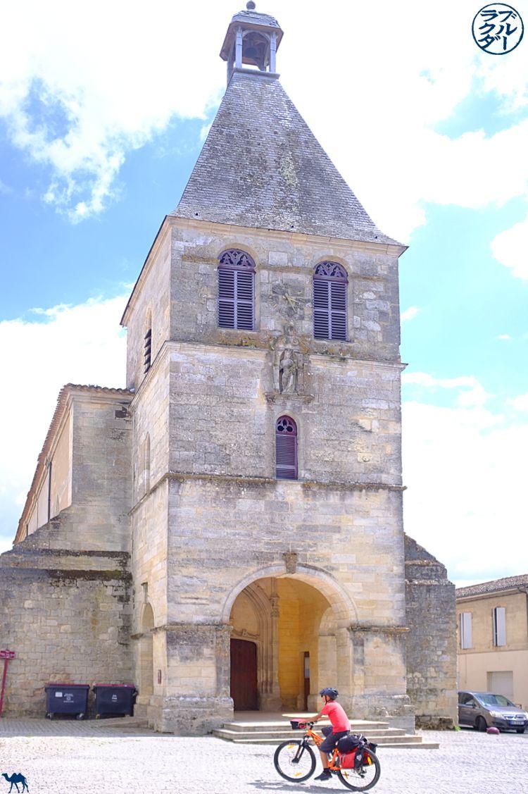 Viaggi in cammello Blue - Blog Canale dei due mari sud ovest della Francia - Viaggio in bici con bambini - Créon Gironde
