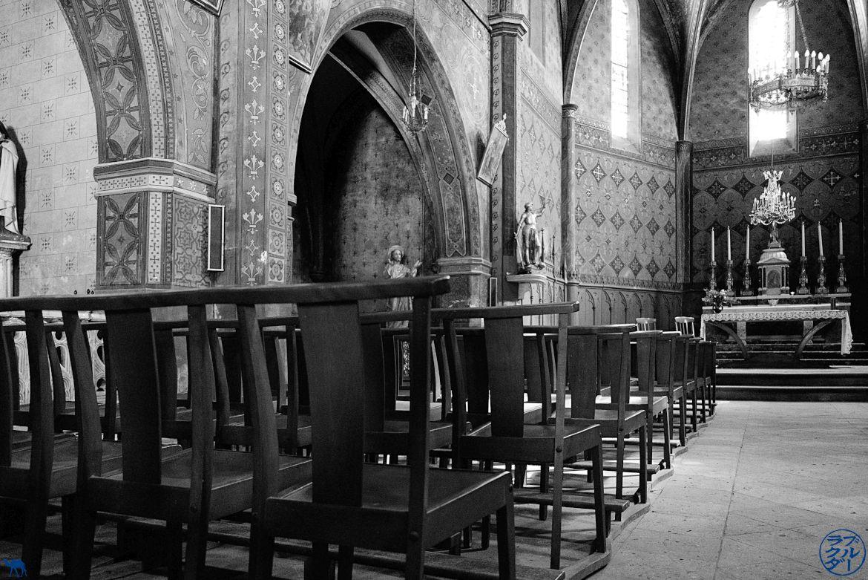 Le Chameau Bleu - Blog Voyage à Vélo sur le Canal des deux Mers - Eglise en Tarn Et Garonne