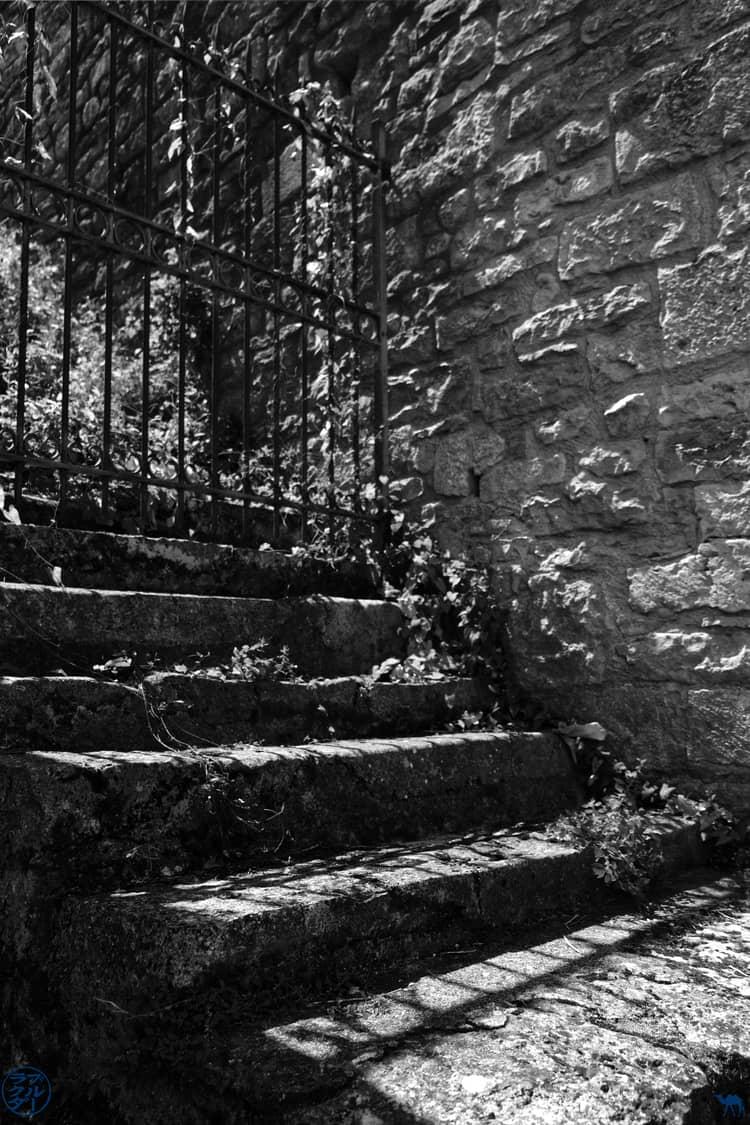 Le Chameau Bleu - Blog Voyage - Gorges de l'Aveyron - Escaliers
