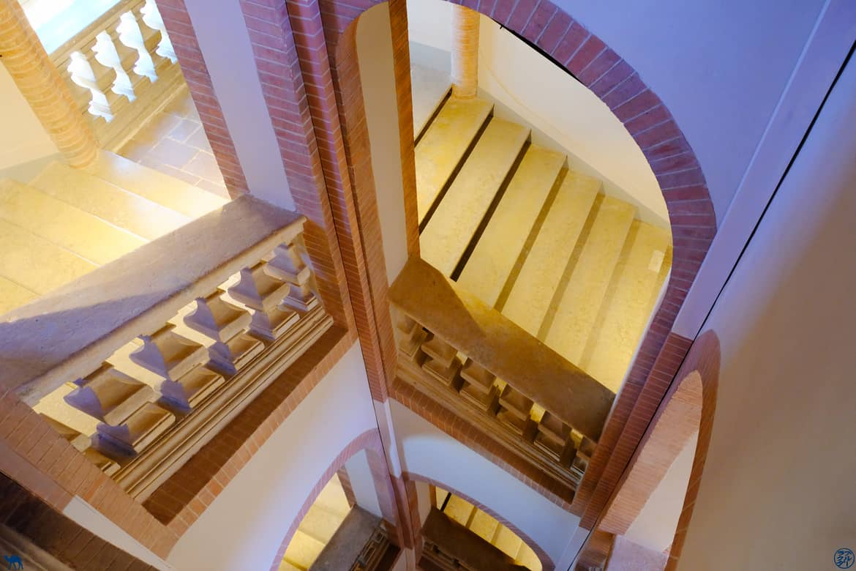Le Chameau Bleu - Blog Voyage et Cuisine - Escalier du Musée Ingres Montauban