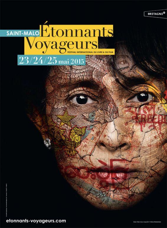 Le Chameau Bleu - Blog Voyage Saint Malo France - Festival Etonnants voyageurs