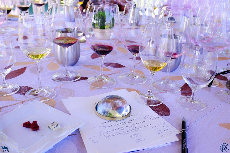 Le Chameau Bleu - Blog Voyage Californie - Dégustation de vin à Farniente