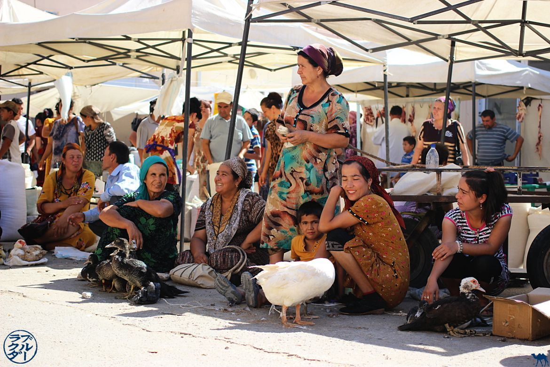 Le Chameau Bleu - Blog Voyage Ouzbékistan - Le Marché Dékon à Khiva Asie Centrale