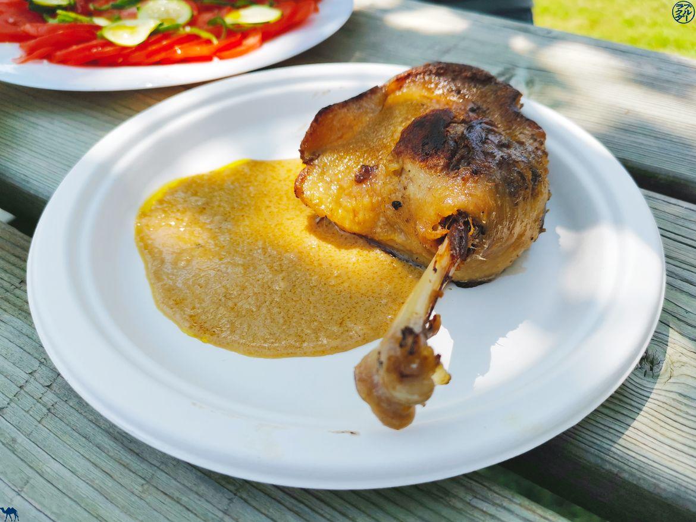 Le Chameau Bleu - Blog Voyage Lot Et Garonne - Confit de canard à la sauce foie gras