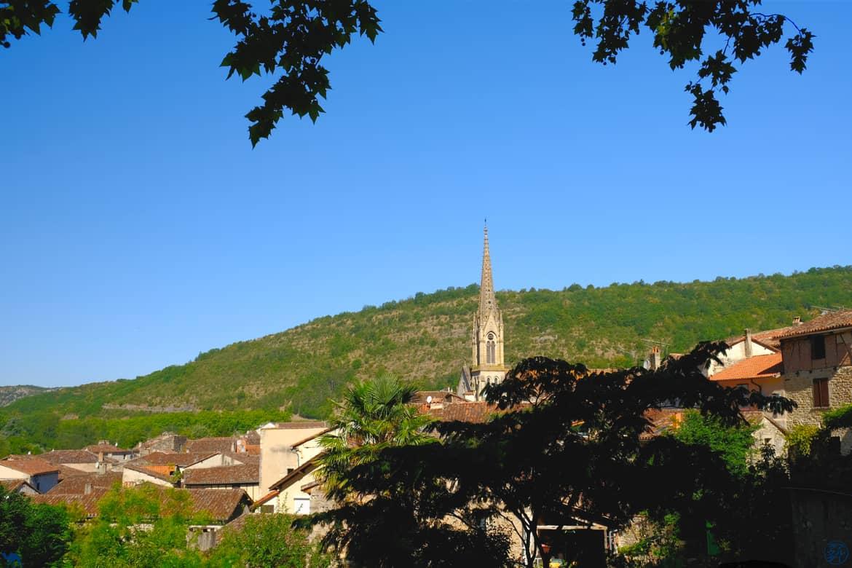 Le Chameau Bleu - Blog Voyage et Cuisine - Fleche Saint Antonin Noble Val - Tarn et Garonne