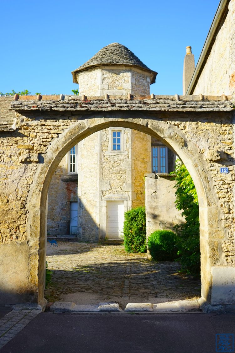 Le Chameau Bleu - Blog Voyage Bourgogne Santenay - Rues de Santenay