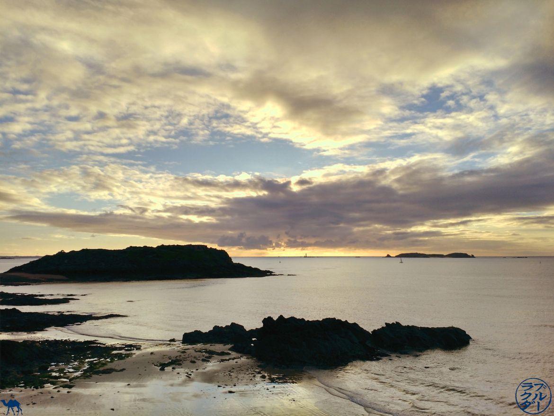 Le Chameau Bleu - Blog Voyage Saint Malo France - Grand Bé à Saint Malo - Bretagne -Paysage breton - France