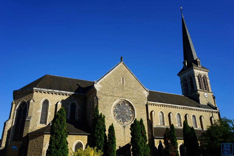 Le Chameau Bleu - Blog Voyage Bourgogne Santenay - Notre Dame du Rosaire à Santenay