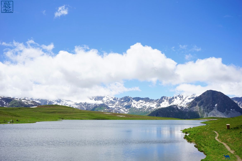 Le Chameau Bleu - Val d'Isère en été - Lac de l'ouillette - Séjour en Savoie